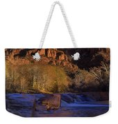 Oak Creek Crossing Sedona Arizona Weekender Tote Bag