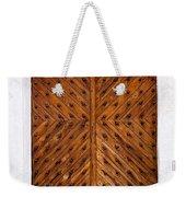 Oak Double Door Weekender Tote Bag