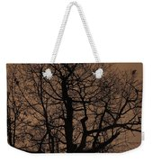 Oak Silhouette  Weekender Tote Bag