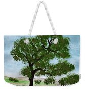 Oak Tree Landscape Weekender Tote Bag