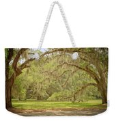 Oak Trees Draped With Spanish Moss Weekender Tote Bag