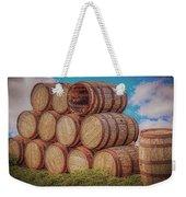 Oak Wine Barrels Weekender Tote Bag