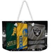Oakland Sports Teams Weekender Tote Bag