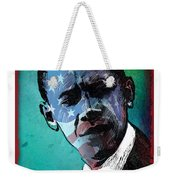 Obama-4 Weekender Tote Bag