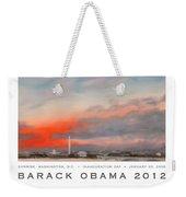 Obama Campaign Poster 2012 Weekender Tote Bag
