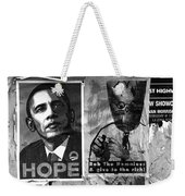 Obama Election Poster Weekender Tote Bag