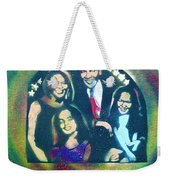 Obama Family Victory Weekender Tote Bag