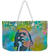 Obama In Living Color Weekender Tote Bag