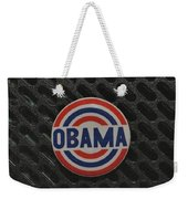 Obama Weekender Tote Bag by Rob Hans