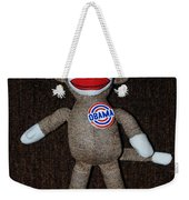 Obama Sock Monkey Weekender Tote Bag