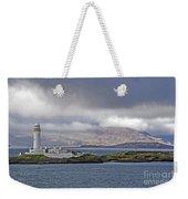 Oban Bay Lighthouse Weekender Tote Bag