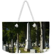 Obelisk And Headstones Weekender Tote Bag