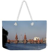 Oberbaum Bridge - Berlin Weekender Tote Bag