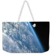 Oblique Shot Of Earth Weekender Tote Bag by Adam Romanowicz