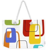 Oblongs On White 3 Weekender Tote Bag