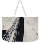 Obsession Sails 2 Black And White Weekender Tote Bag