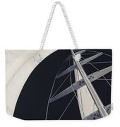 Obsession Sails 5 Black And White Weekender Tote Bag