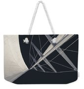 Obsession Sails 7 Black And White Weekender Tote Bag