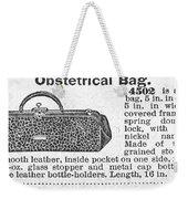 Obstetrical Bag, C1900 Weekender Tote Bag
