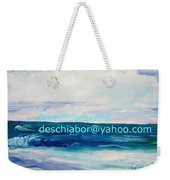 Ocean Assateague Virginia Weekender Tote Bag