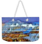 Ocean City Maryland At Night - Blue Weekender Tote Bag