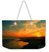 Ocean City Nj Sunset Weekender Tote Bag