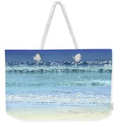 Ocean Colors Abstract Weekender Tote Bag