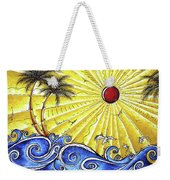 Ocean Fury By Madart Weekender Tote Bag