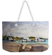 Ocean Inlet Marina Weekender Tote Bag