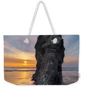 Ocean Meadow Beach Sunset Weekender Tote Bag