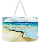 Ocean Pier In Key West Florida Weekender Tote Bag