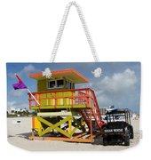 Ocean Rescue Miami Weekender Tote Bag