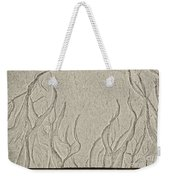 Ocean Sand Art Below Weekender Tote Bag