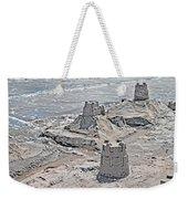 Ocean Sandcastles Weekender Tote Bag by Betsy Knapp