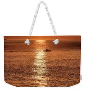 Ocean Sunrise At Montauk Point Weekender Tote Bag