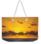 Ocean Sunrise Clouds Weekender Tote Bag
