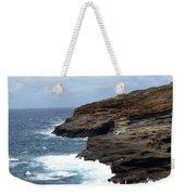 Ocean Vs. Rock Weekender Tote Bag