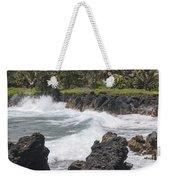 Ocean White Water Weekender Tote Bag