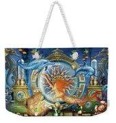Oceana Triptych Weekender Tote Bag by Ciro Marchetti