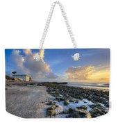 Oceanfront Weekender Tote Bag