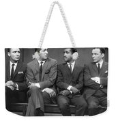 Ocean's Eleven Rat Pack Weekender Tote Bag