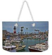 Oceanside Harbor Weekender Tote Bag