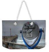 Oceanside Pier California Binocular Vision Weekender Tote Bag