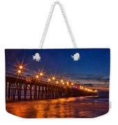 Oceanside Pier Evening Weekender Tote Bag