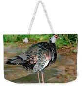 Ocellated Turkey Weekender Tote Bag