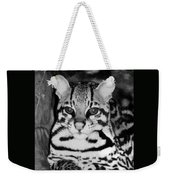 Ocelot In Repose Weekender Tote Bag