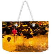 Ochre Wall Silk Lantern 01 Weekender Tote Bag