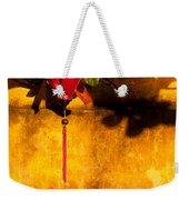 Ochre Wall Silk Lantern 03  Weekender Tote Bag