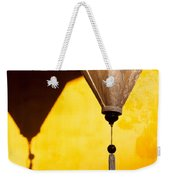 Ochre Wall Silk Lanterns  Weekender Tote Bag