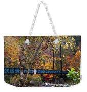 Ocoee River Bridge Weekender Tote Bag by Debra and Dave Vanderlaan